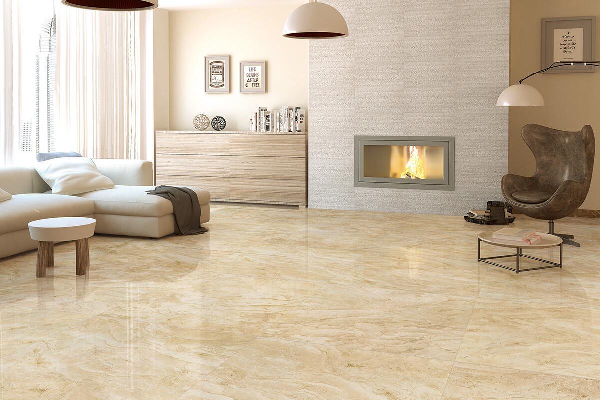 Piastrelle gres porcellanato effetto marmo beige amasya - Piastrelle di marmo ...