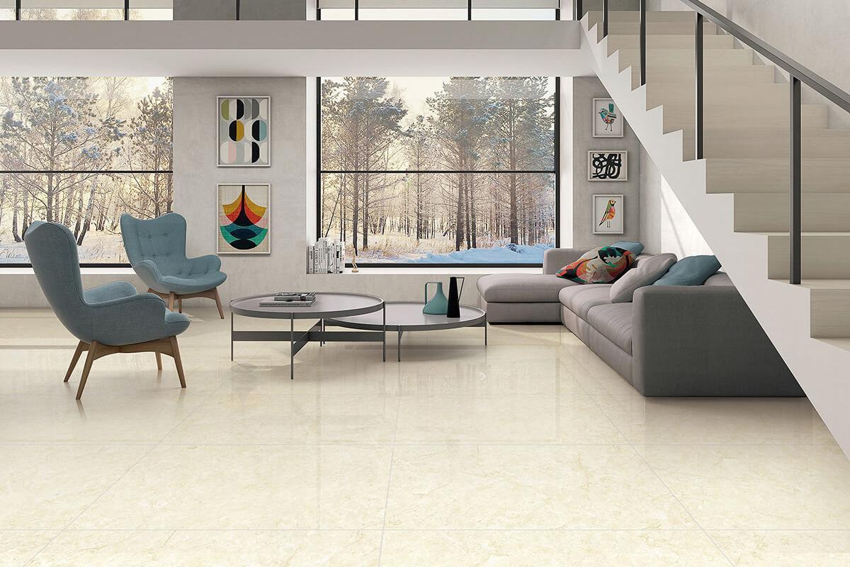 Piastrelle gres porcellanato effetto marmo beige oro - Piastrelle in marmo ...