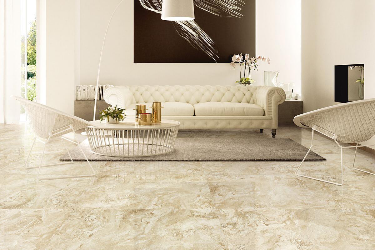 Piastrelle gres porcellanato effetto marmo onice cappuccino gres