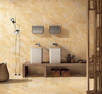 Marfil Oro Marble Tile