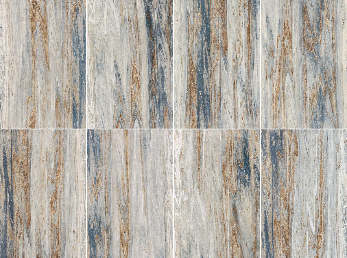 Piastrelle ceramica effetto marmo blu palissandro ceramica